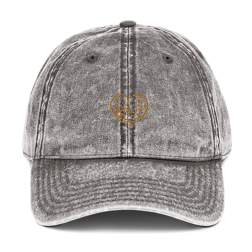 Vintage 100% Cotton Twill Cap