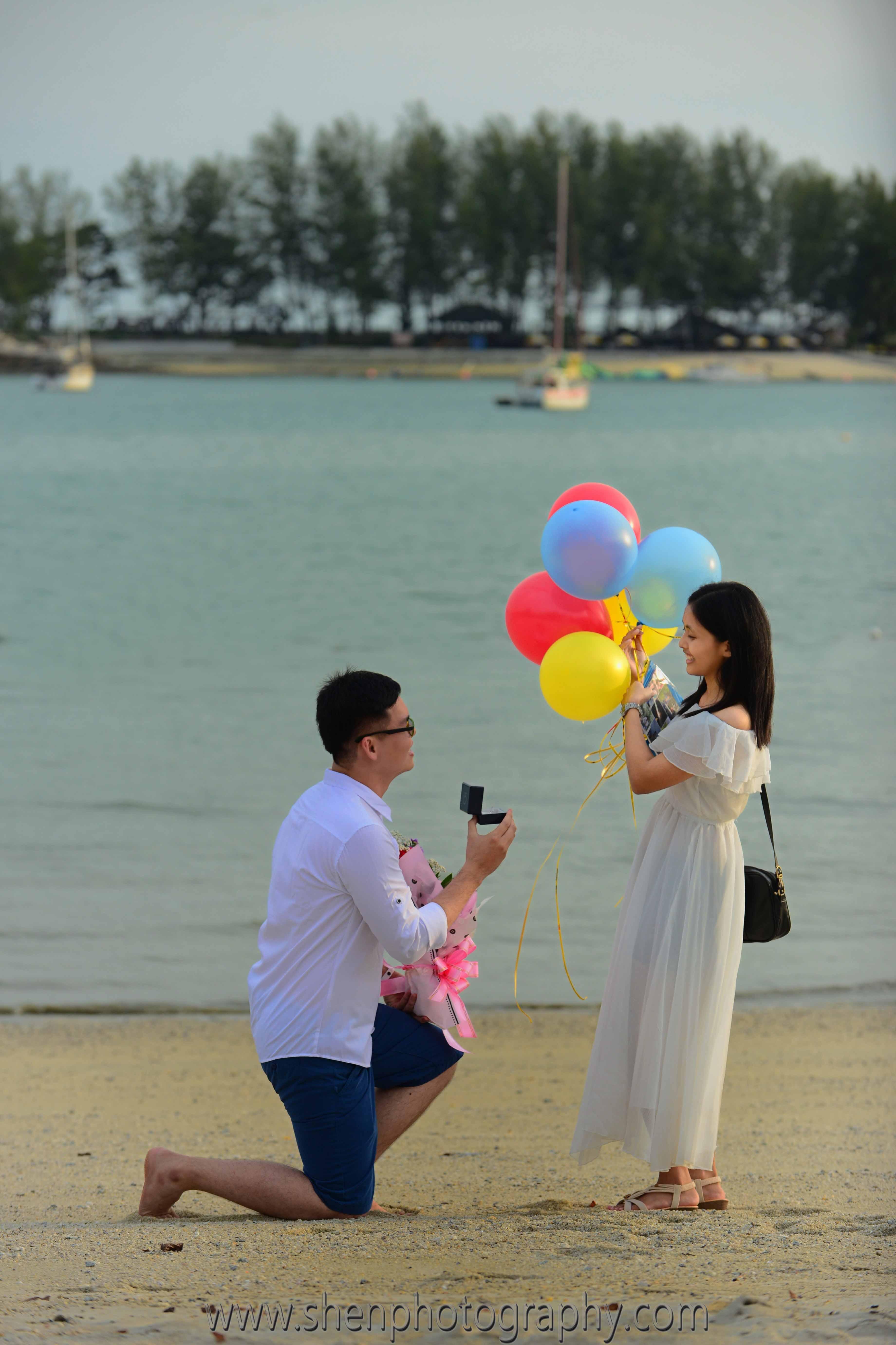 Khai's wedding proposal