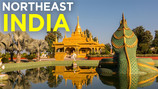 The Golden Pagoda in INDIA
