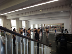 Work shopt at Berlin Ballet