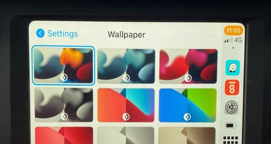 CarPlay - IOS15 Wallpapers