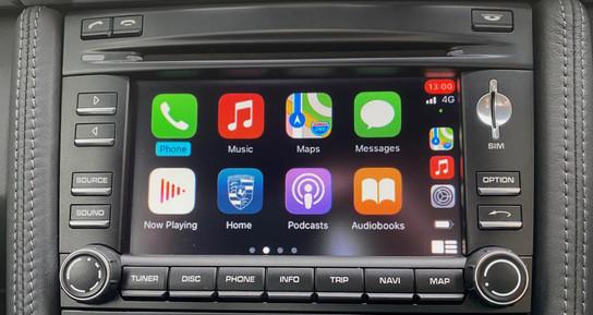 PCM3.0. - CarPlay Main Screen