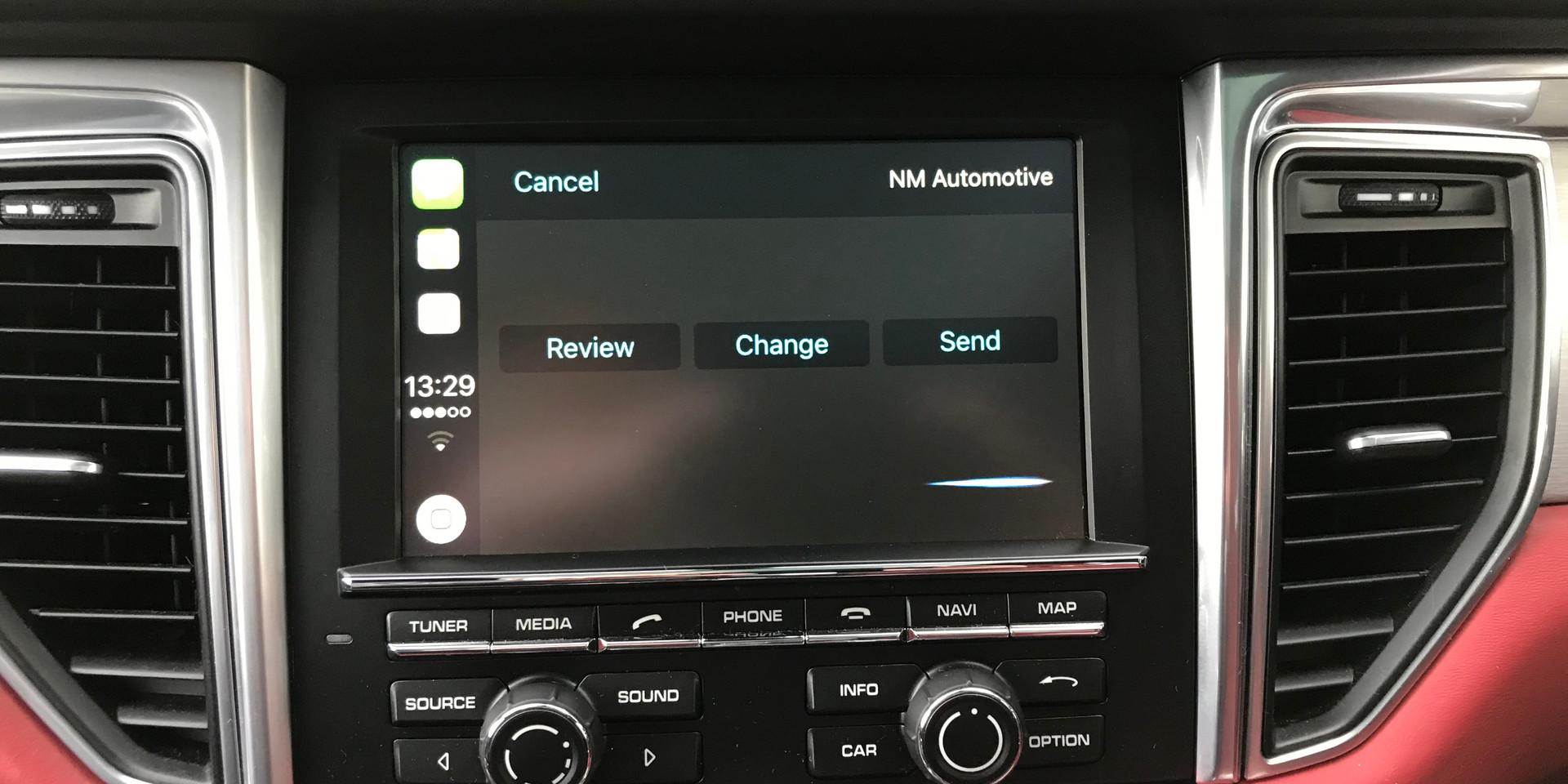 CarPlay Sending Text