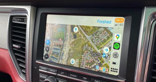 Navigation - Satellite View