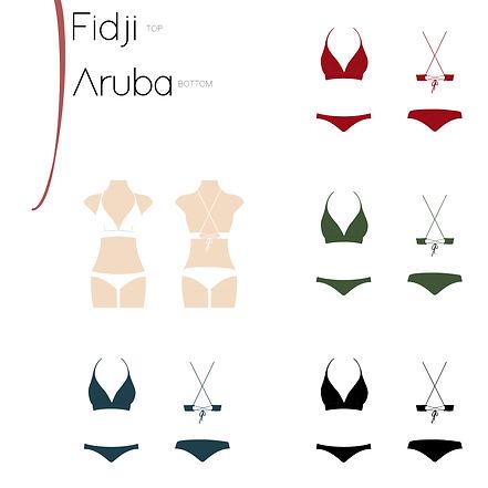Annaha swimwear fidji & aruba