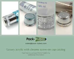 Luxury Acrylic-Chrome caps