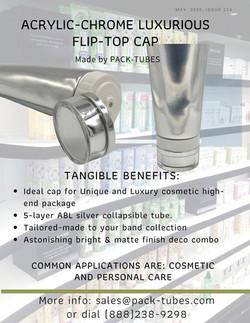 Chrome flip-top cap Goddady