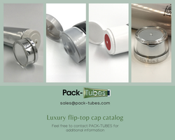Luxury flip-top caps