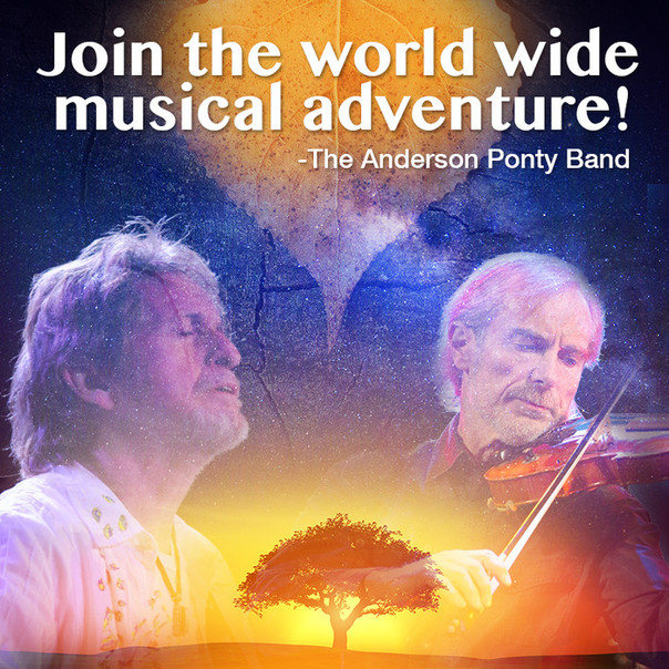 Violinist Extraordinaire Jean- Luc Ponty and 'YES' Legend Jon Anderson Merge Creative Forces and Ask