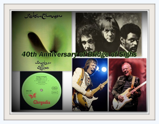 Robin Trower Interview:  Celebrating 40 Years of 'Bridge of Sighs' -A Title Inspired By A Race Horse