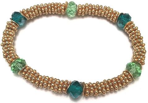 Coco Bracelet in Mermaid Green