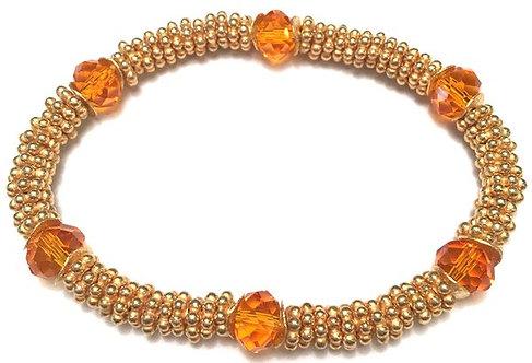 Coco Bracelet in Tangerine
