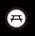 Tabell emblem Vit