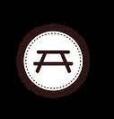 Table Badge White