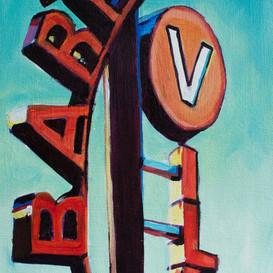 Barton Village Sign