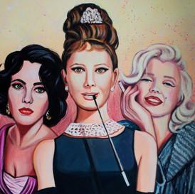 Queens: Elizabeth, Audrey and Marilyn