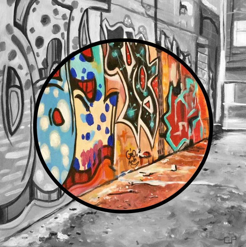 Rebecca Street Graffiti