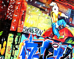 James Street North Graffiti