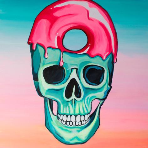 Donut Sugar Skull