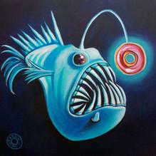 Anglerfish with Donut