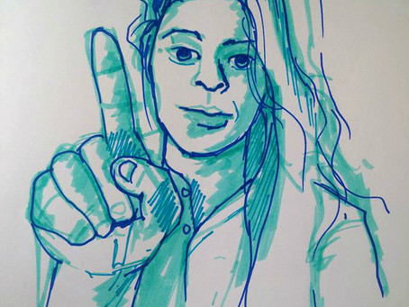 Start of Daily Self Portraits