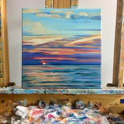 Sunset on Lake Huron II