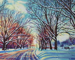 Winter at The Avon River