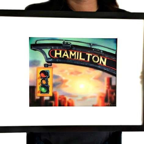 Hamilton Sign