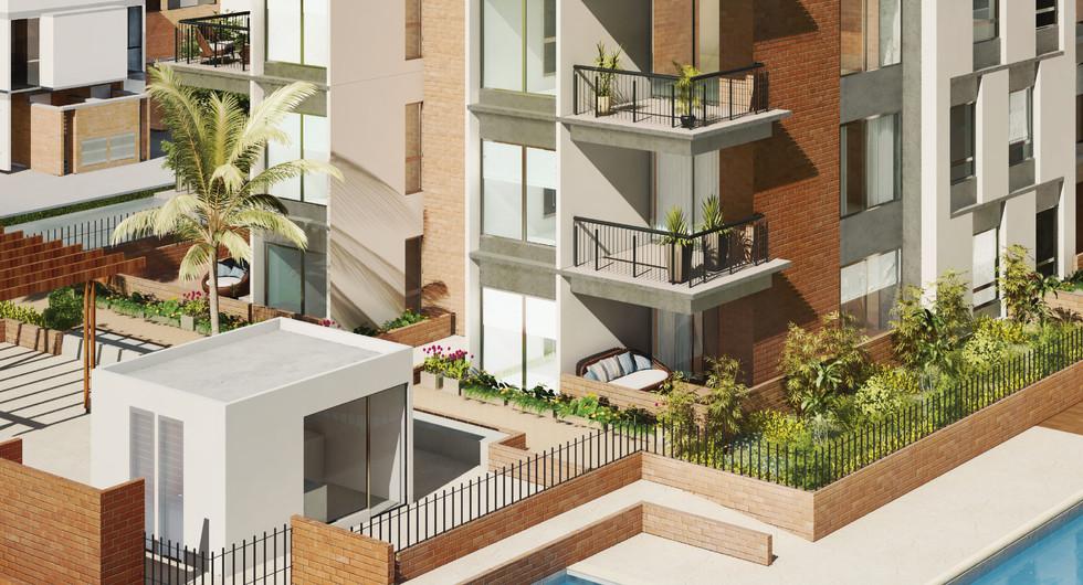 Santa Anita - Apartamentos