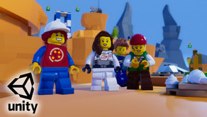 Lego and Unity 3d Come together | creating games with LEGOS®