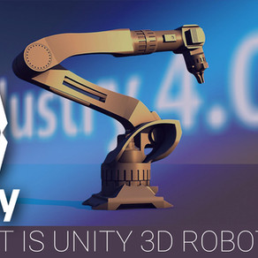 Unity 3d Crosses over to Robotics Testing