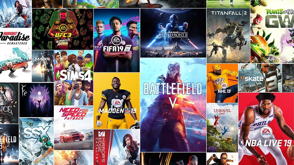 EA Games Poster