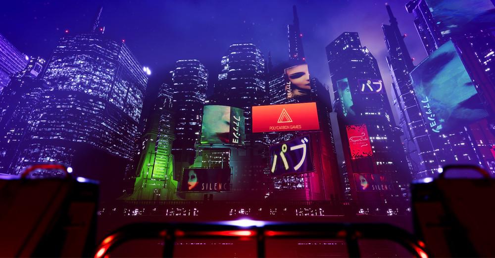 Cyberpunk Scene Unity 3D