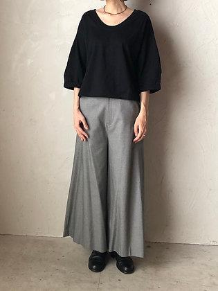 コットンカットソー ショート丈プルオーバー(TF2030211)