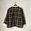 Thumbnail: コットン チェックノーカラーシャツ(TF2030151)