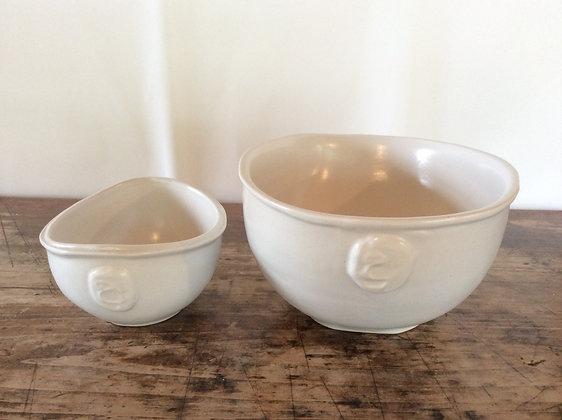CERAMIC White Bowl (AR-C104)