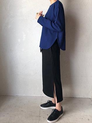AC/ウール ポンチ 紐付きスカート(TF18AW-202)