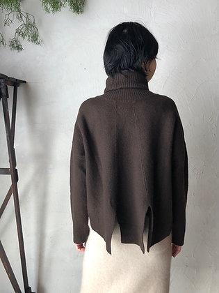 ボイルウール タートルネックポケットセーター(TF18AW-306)