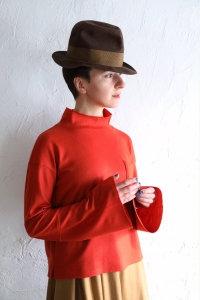 ボイルガーゼ ハイネックシャツ(TF17AW-0103)
