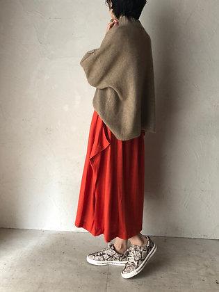ボイルガーゼ ドレープスカート(TF17AW-0703)