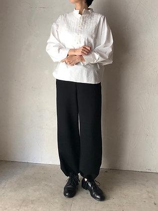 INFINITE by silva コットンスウェット 裾リボン付きワイドパンツ(TF2030801)