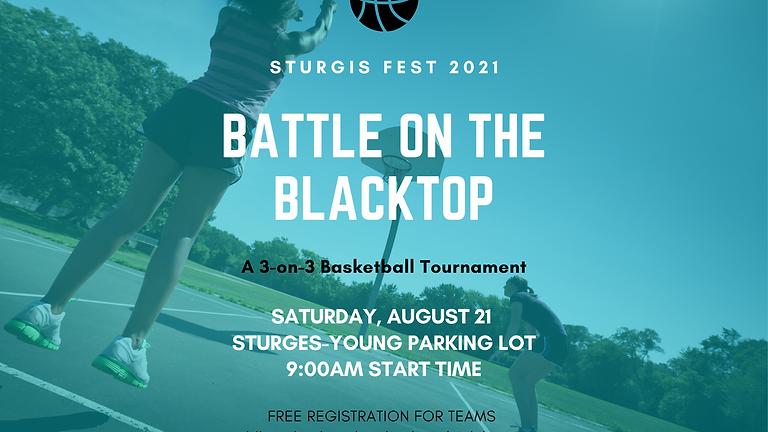 Battle on the Blacktop: 3 on 3 Basketball Tournament