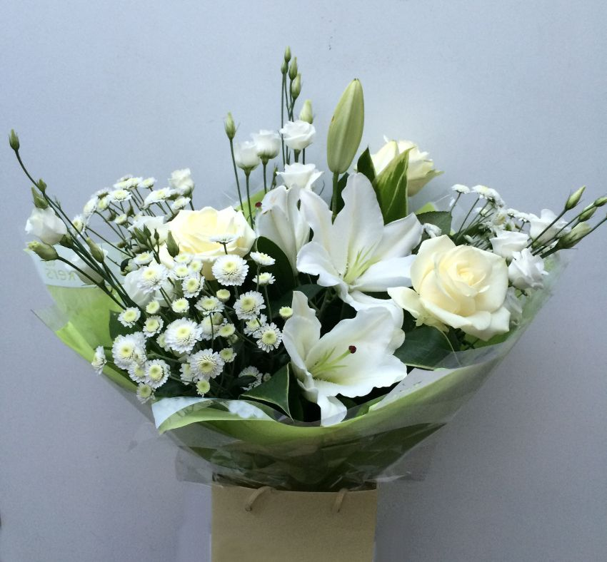 sympathy lilly aqua bouquet.jpg