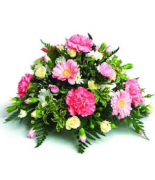 posy arrangement in pinks and creams.jpg