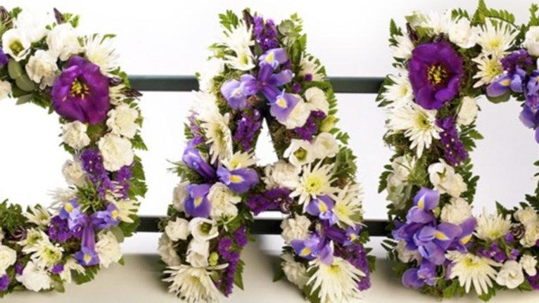 Funeral Tributes DAD, SON, MUM