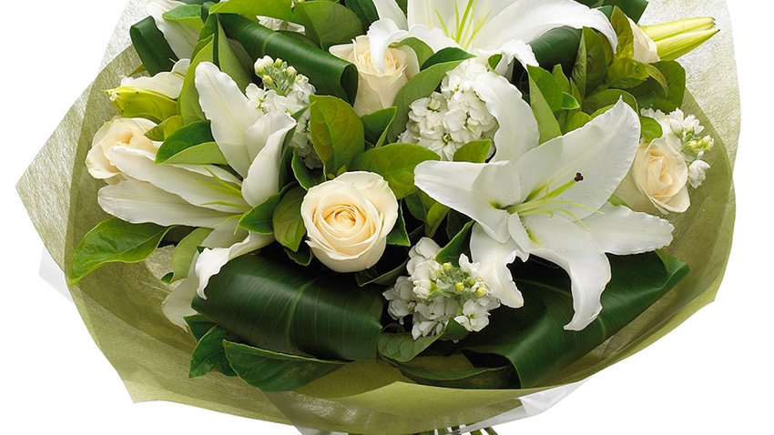 Classic Rose and Lily bouquet  X Large