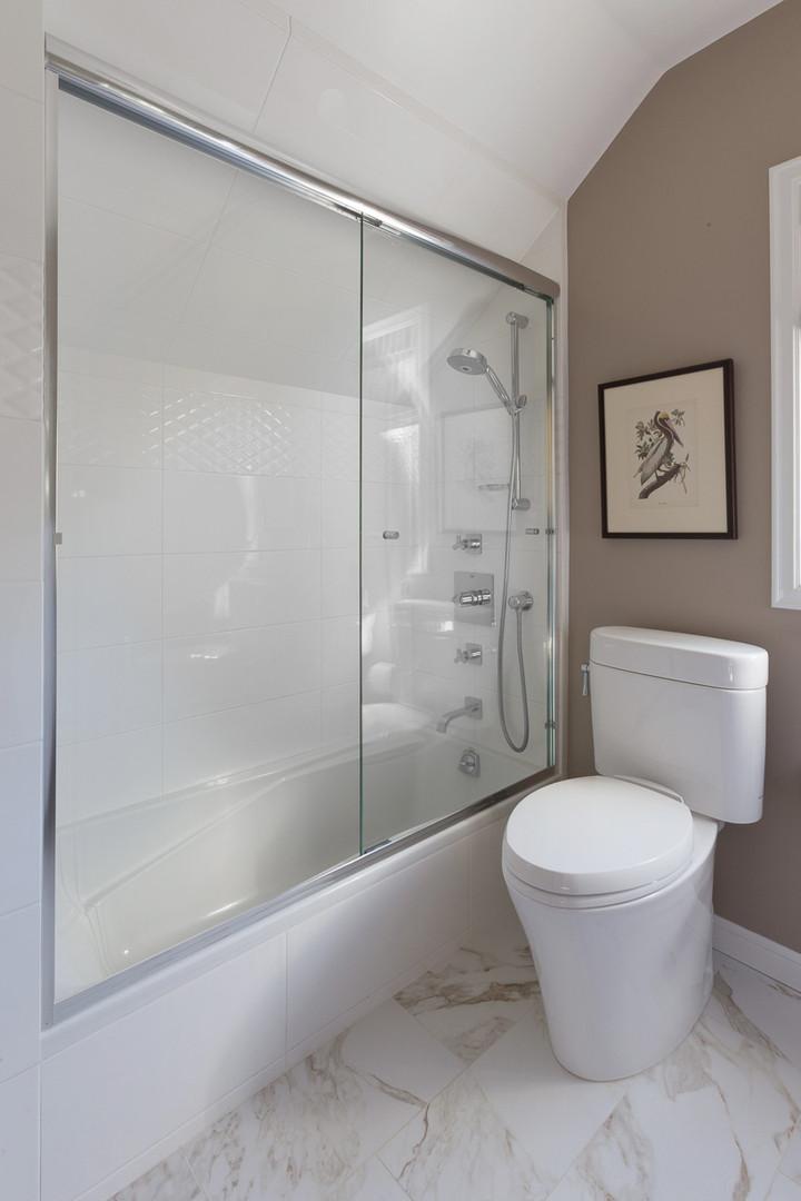 Victorian Bathroom Shower - Corte Madera