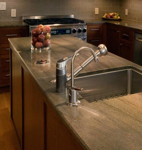 Contemporary Kitchen Sink - San Anselmo