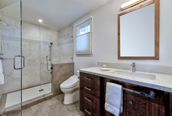 Transitional Bathroom - San Anselmo