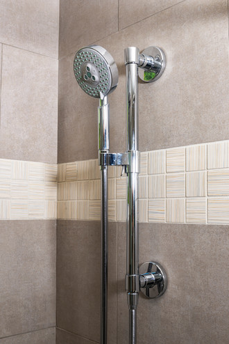 Transitional Bathroom Shower - San Anselmo